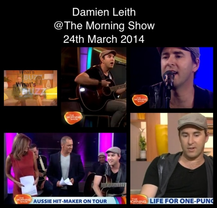 morning show collage